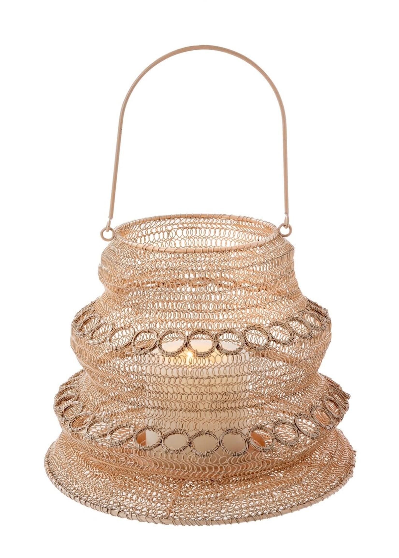 Wonderland Wire Lantern, L Blush