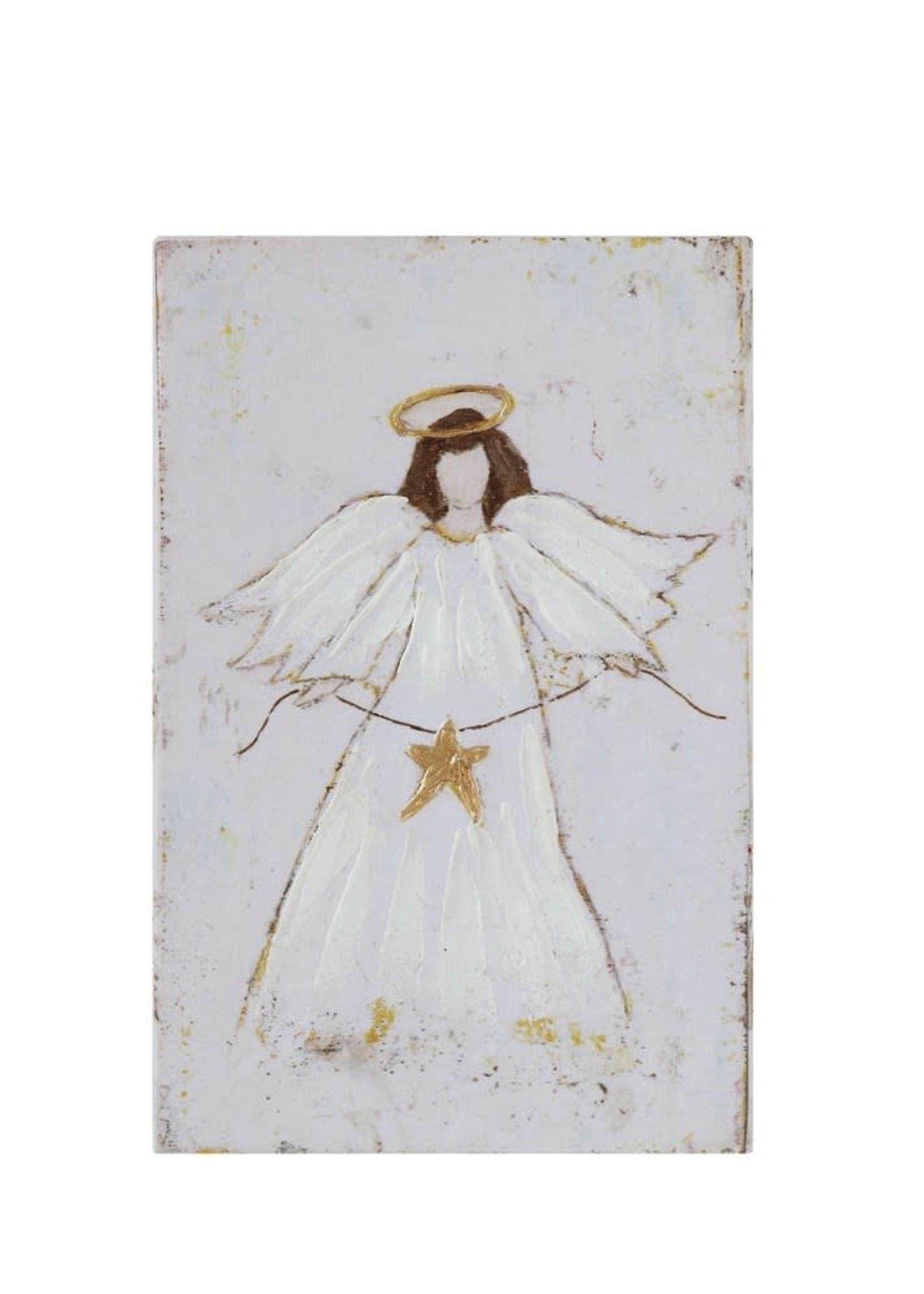 Canvas Wall Decor w/ Angel