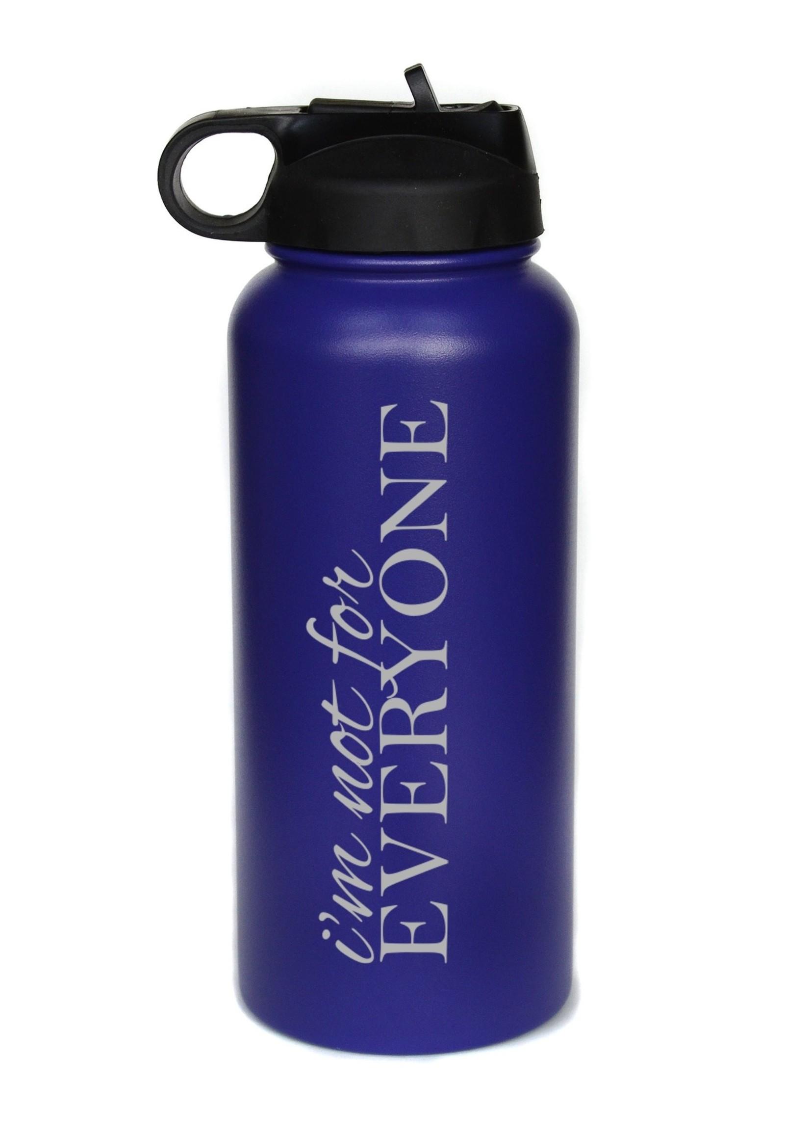32 oz Water Bottle - Not Everyone - Black