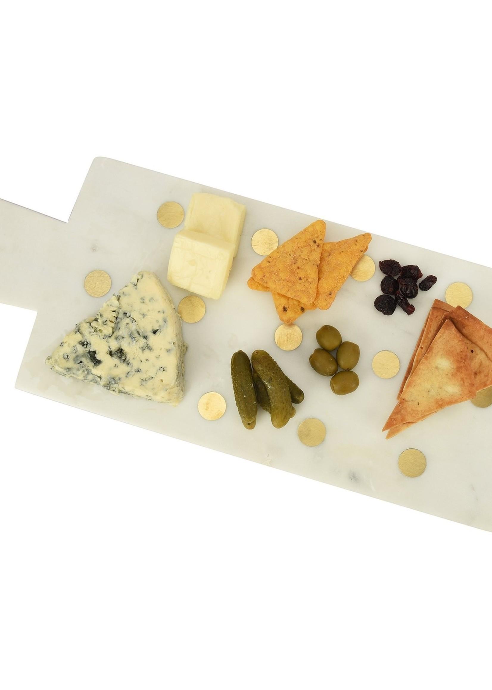 "Polka Marble Cheese Board (17.75""x7"")"