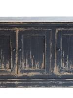 Nest Mimi 3 Door Cabinet Antique Black