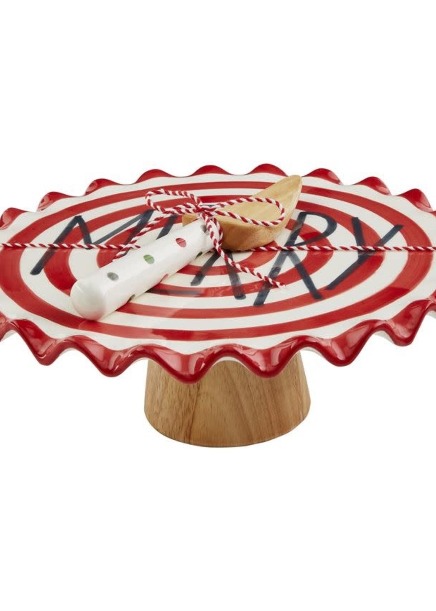 Merry Cake Pedestal Set