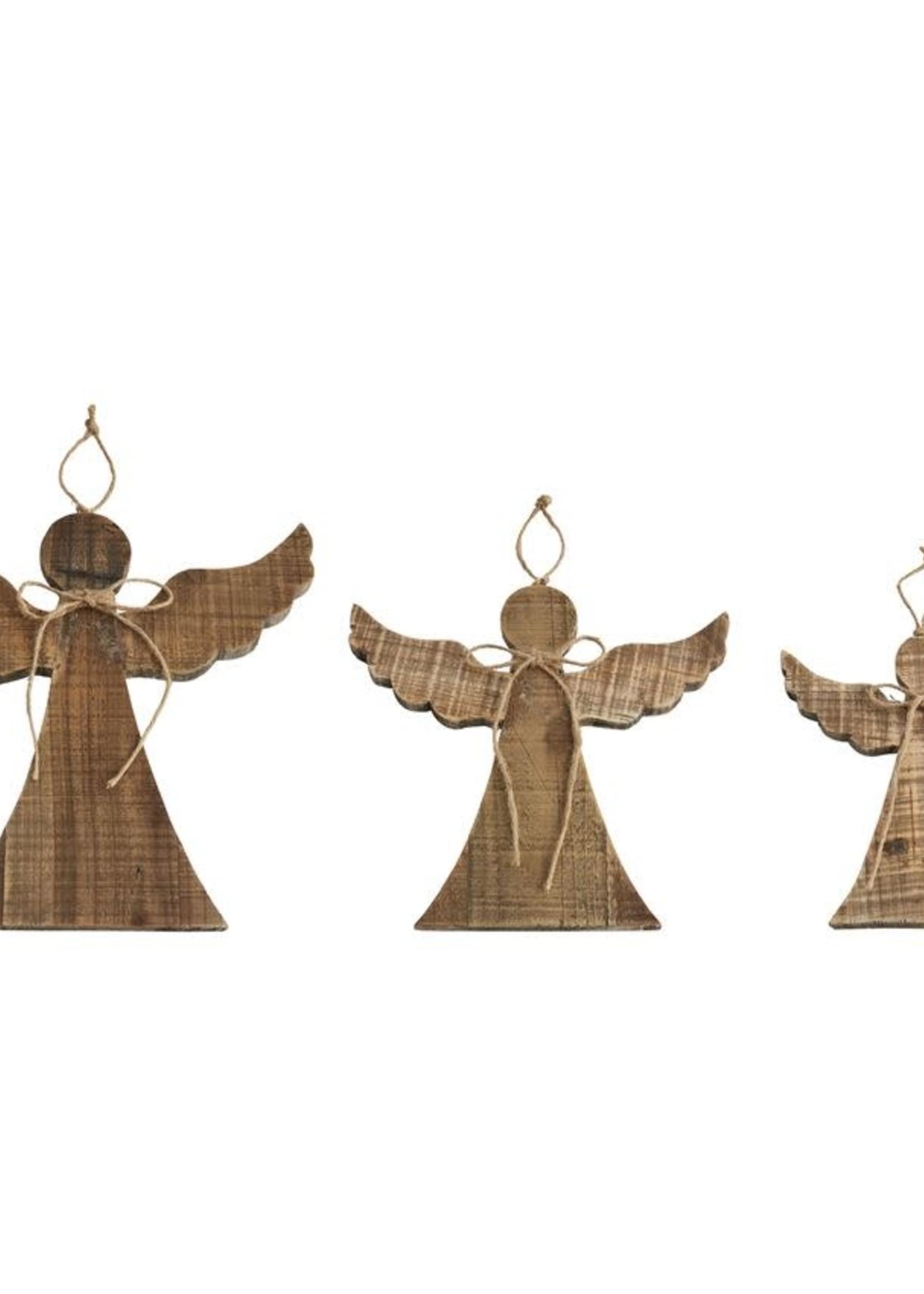 LG ANGEL WOOD ORNAMENT HANGER