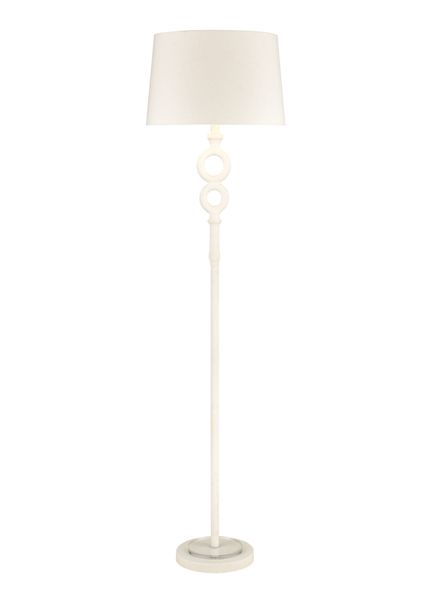 Hammered Home Floor Lamp