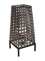 Carus Outdoor Table Lamp Brown