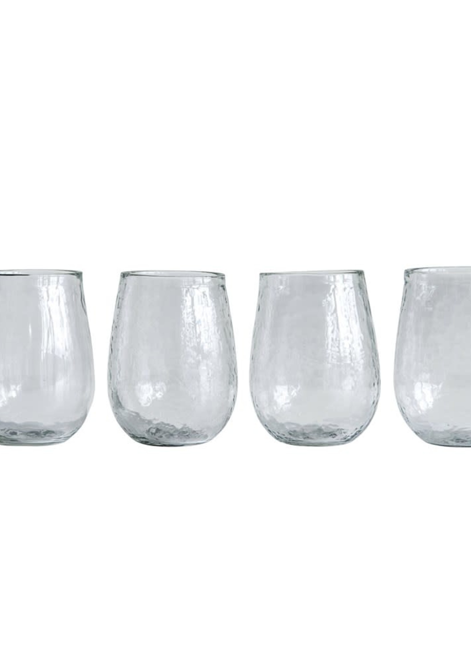 14 oz. Recycled Glass Stemless Wine Glass