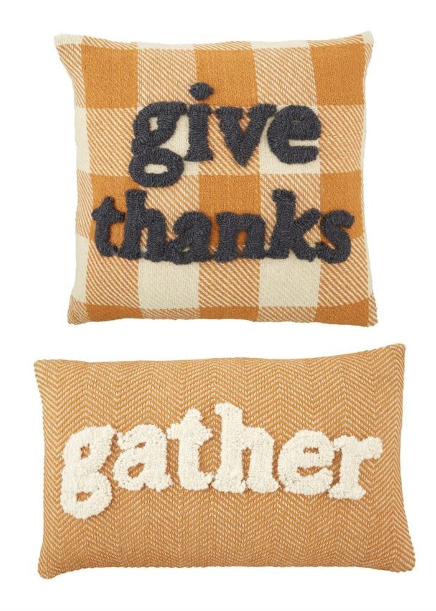 GATHER TUFTED PILLOW