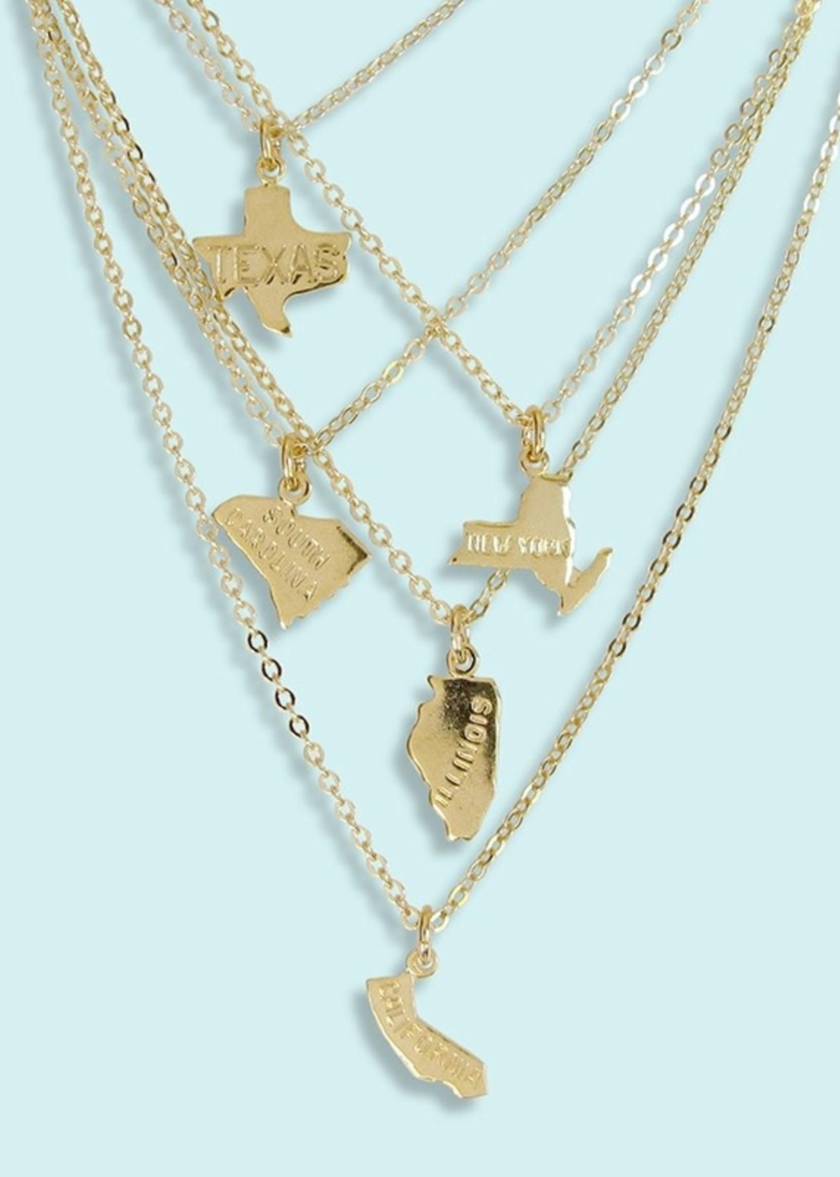 North Carolina Charm Necklace