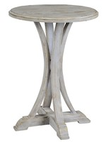 Zach Side Table (Cottage White)