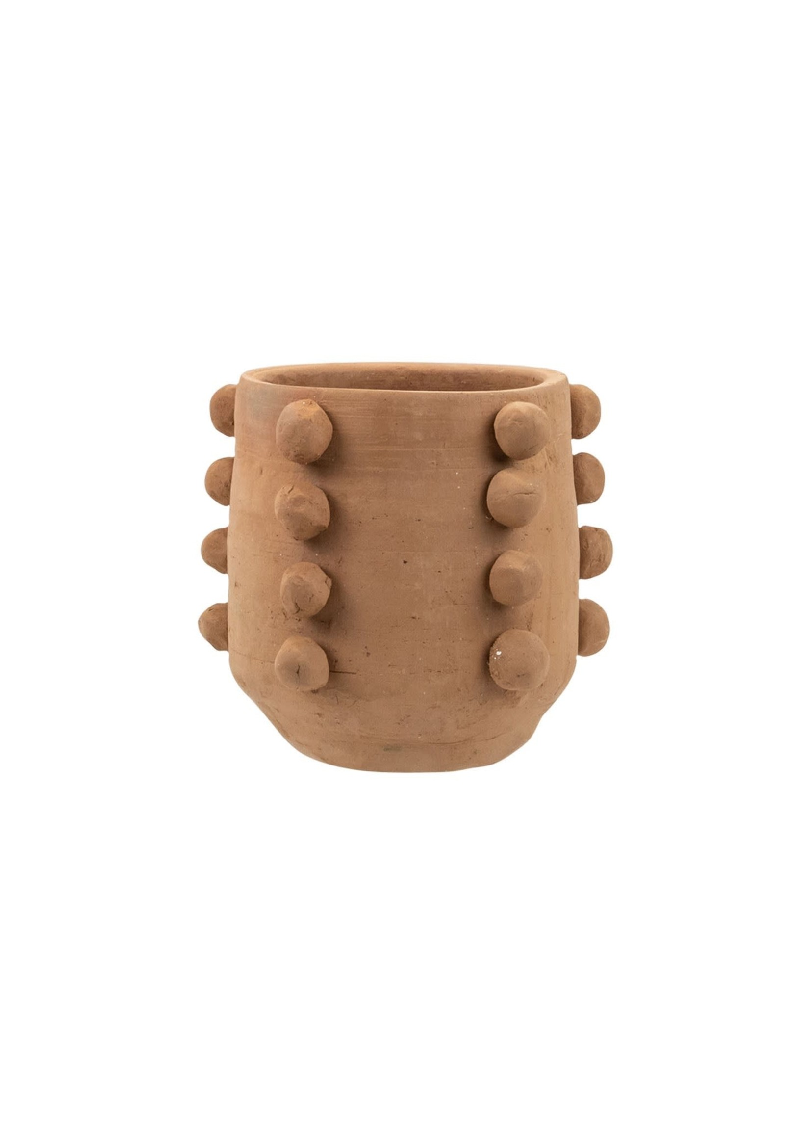 Beaded Terracotta Planter Small