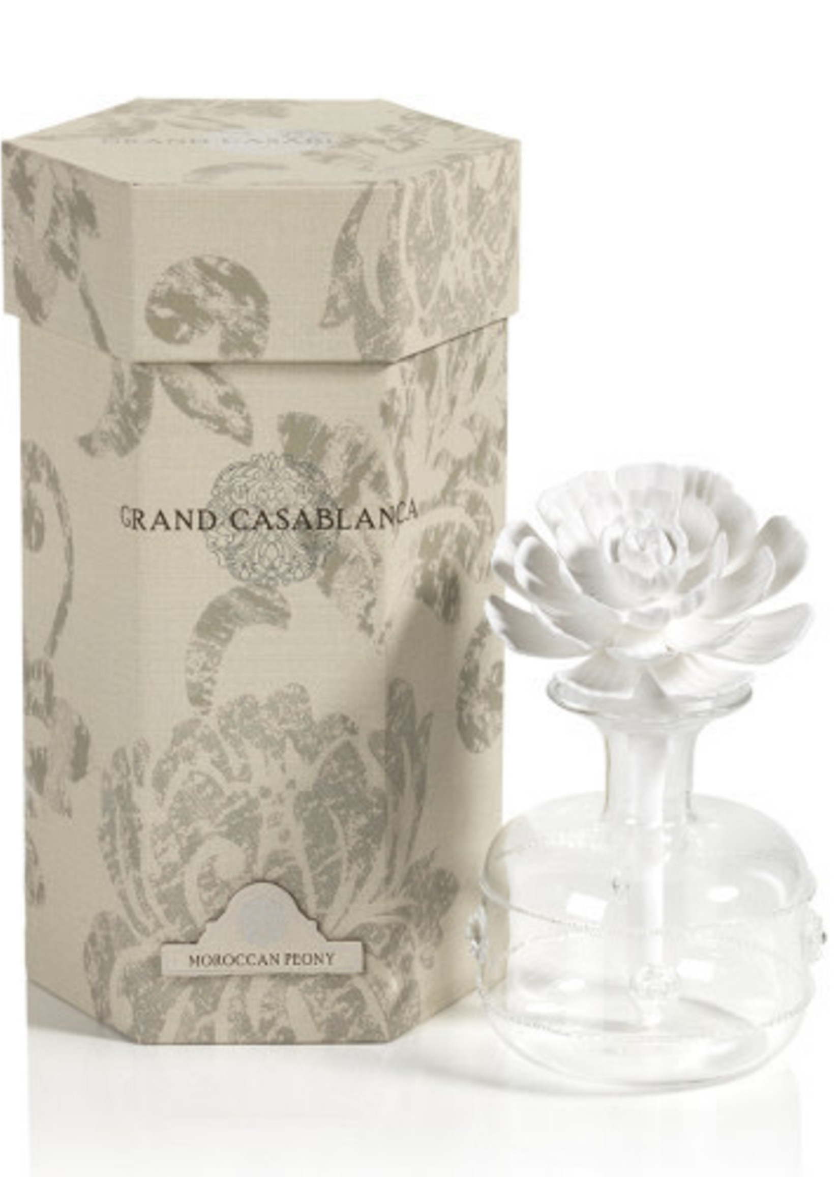 Grand Porcelain Diffuser - Moroccan Peony