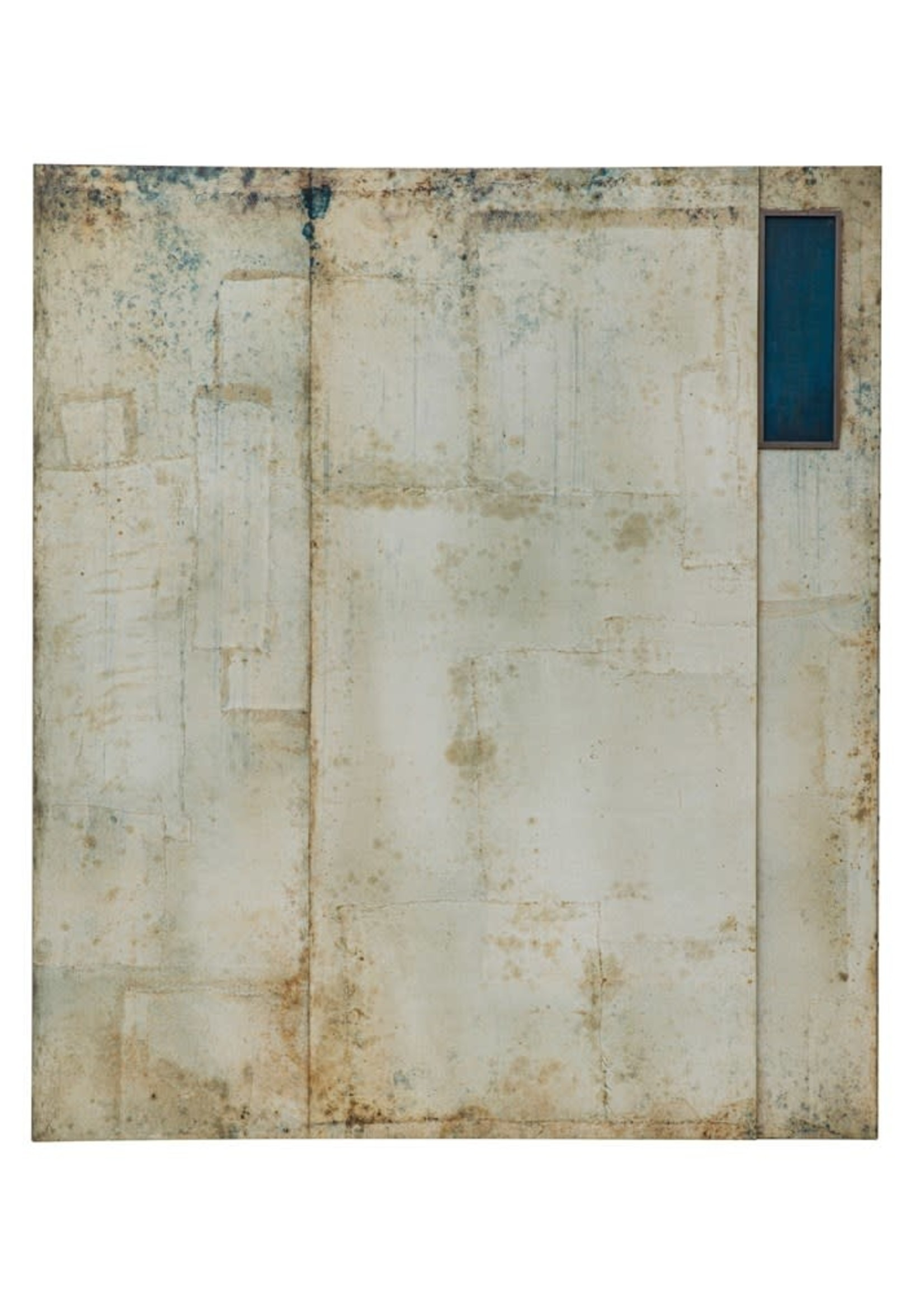 Dimensional Abstract Wall Décor, Distressed Finish