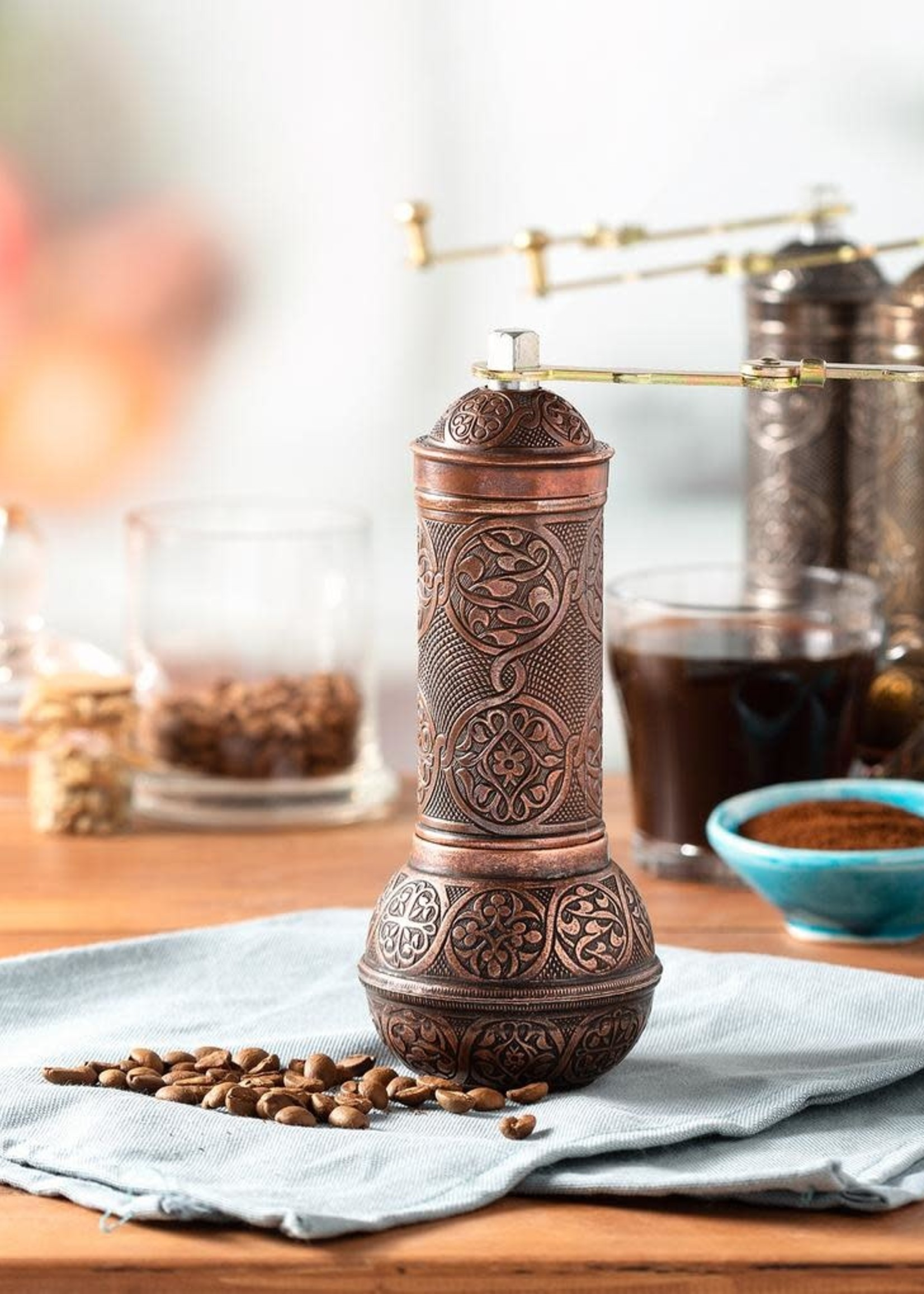 Crystalia Manual Coffee Mill