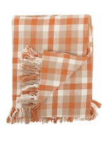 C&F Home Dunmore Plaid woven Cotton Throw
