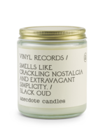 Anecdote Candles Vinyl Records (Black Oud) Glass Jar Candle