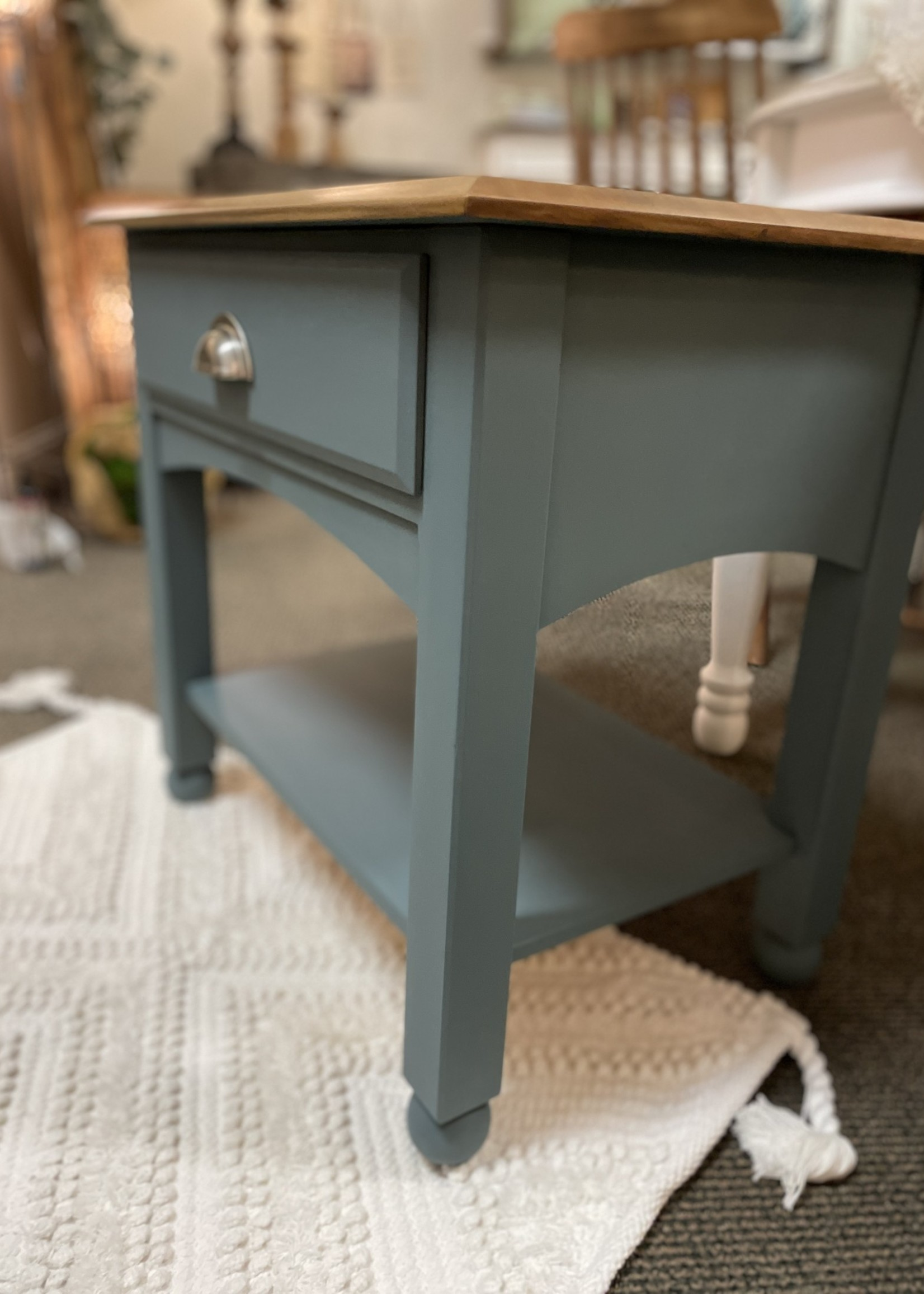 Hand painted Ethan Allen Nightstand Side Table 26x17x24.5