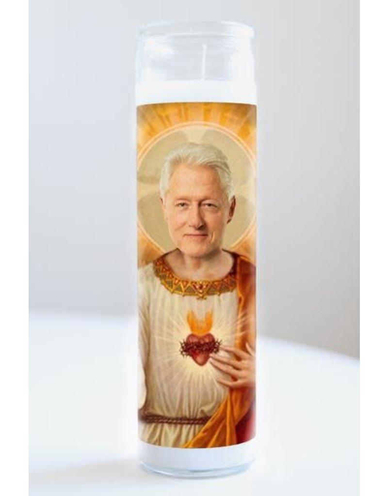 Illuminidol Saint Bill Clinton Prayer Candle Unscented