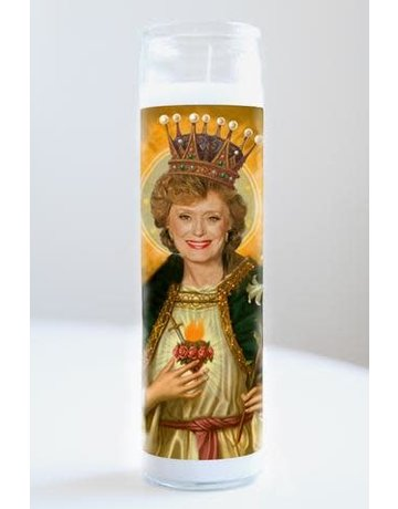 Illuminidol Saint Blanche (Golden Girls) Prayer Candle Unscented