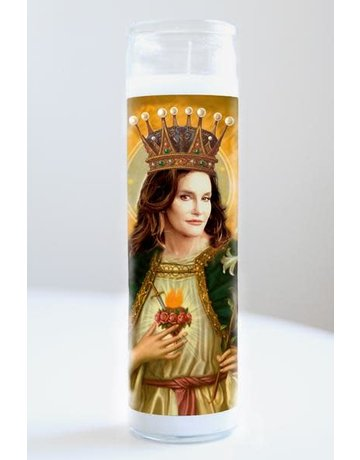 Illuminidol Saint Caitlyn Jenner Prayer Candle
