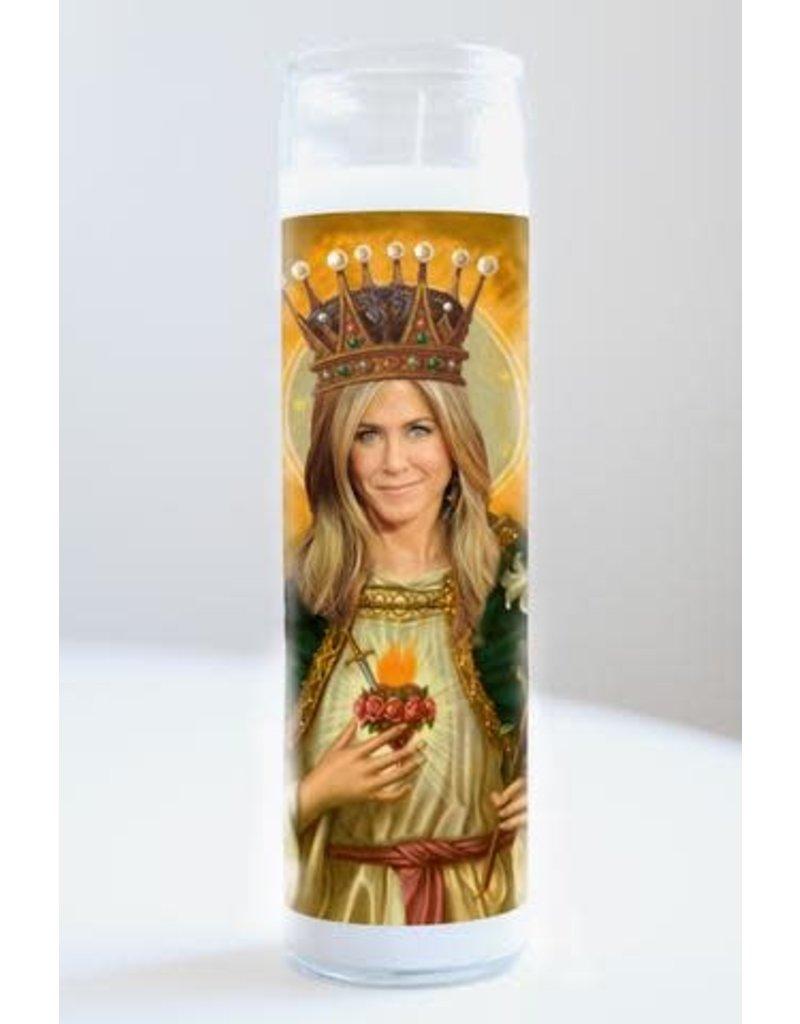 Illuminidol Saint Jennifer Aniston Prayer Candle - Unscented