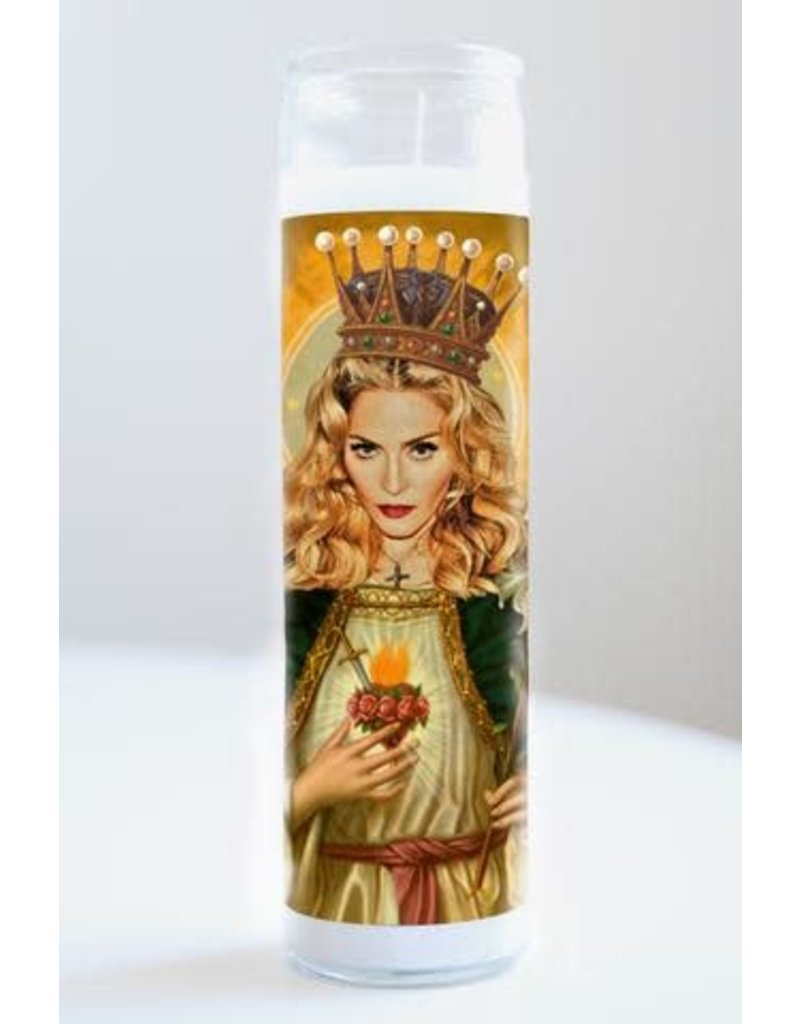 Illuminidol Saint Madonna Prayer Candle Unscented