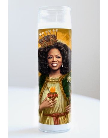 Illuminidol Saint Oprah Winfrey Prayer Candle Unscented