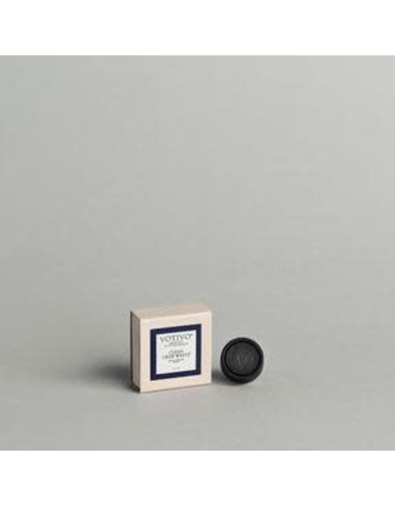 Votivo Aromatic Auto Fragrance Clean Crisp White