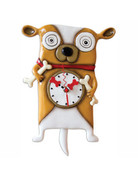 Allen Designs Roofus Dog Clock