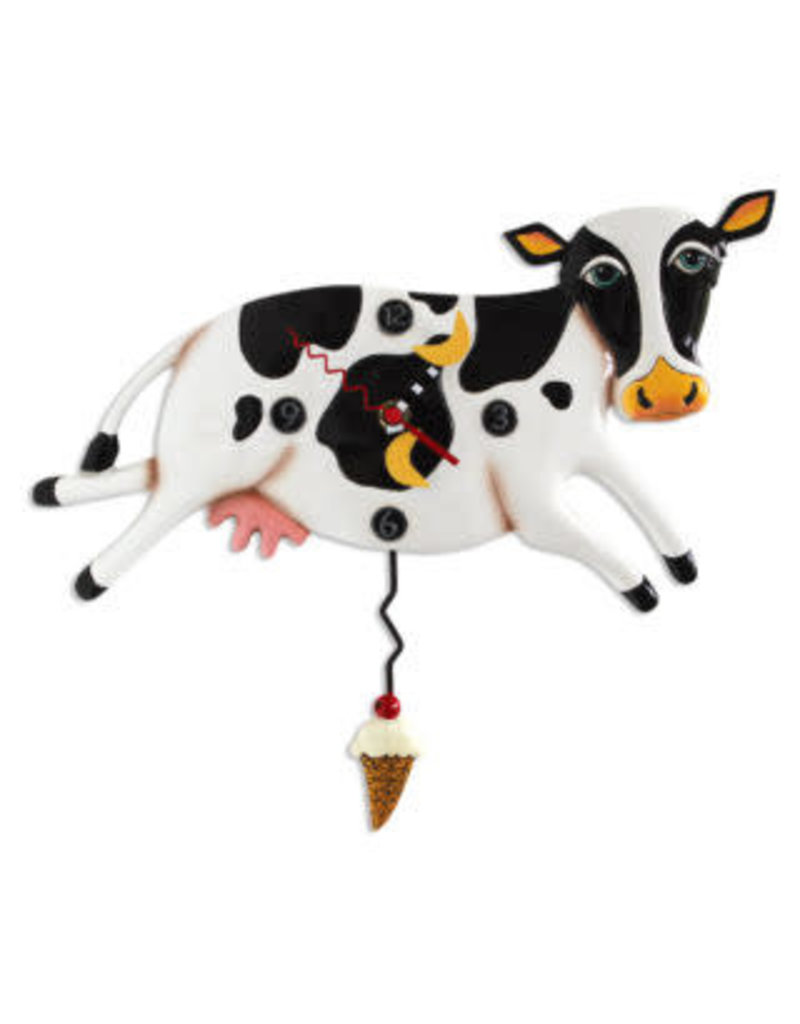 Allen Designs Bessy Cow Pendulum Clock