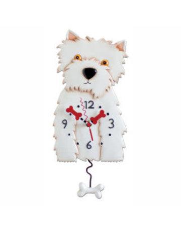 Allen Designs Westin Dog Clock