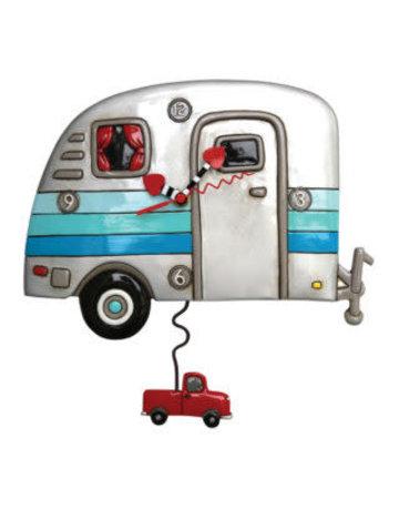 Allen Designs Happy Campers Pendulum Clock