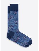 Bugatchi Mid-Calf Socks INDIGO