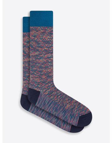 Bugatchi Mid-Calf Socks SUNSET