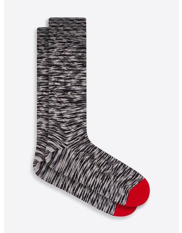 Bugatchi Mid-Calf Socks CHALK