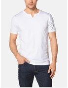 Tommy John Men's Second Skin Moroccan Tee White Large