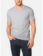 Tommy John Men's Second Skin Moroccan Tee Grey Heather Large