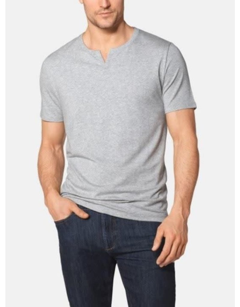 Tommy John Men's Second Skin Moroccan Tee Grey Heather XX-Large