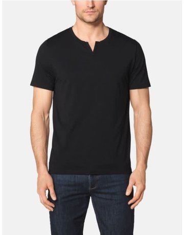 Tommy John Men's Second Skin Moroccan Tee Black Medium