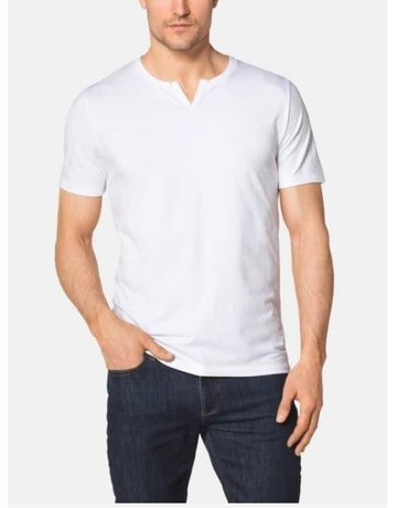 Tommy John Men's Second Skin Moroccan Tee White Medium