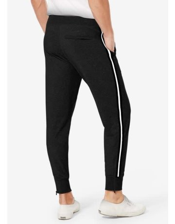 Tommy John Men's Go Anywhere Tuxedo Stripe Jogger
