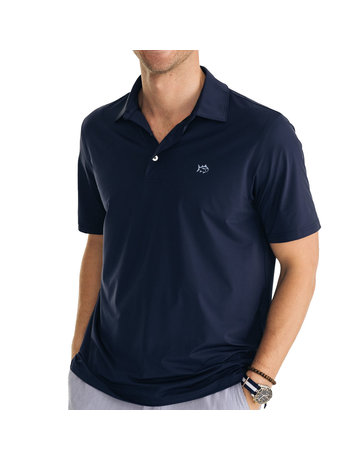 Southern Tide Driver Brrr Performance Polo Shirt True Navy Medium