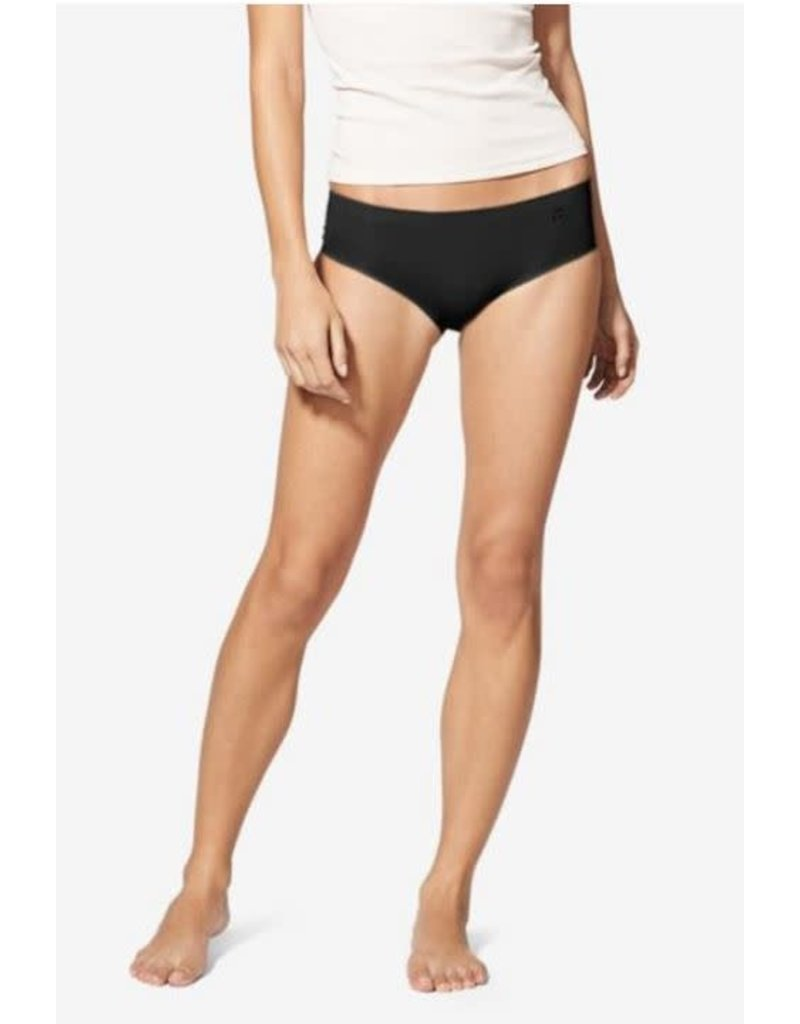 Tommy John Women's Air Mesh Brief Black Large