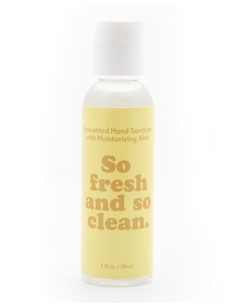 Paddywax ''So Fresh So Clean'' 2 OZ Unscented Hand Sanitizer + Aloe