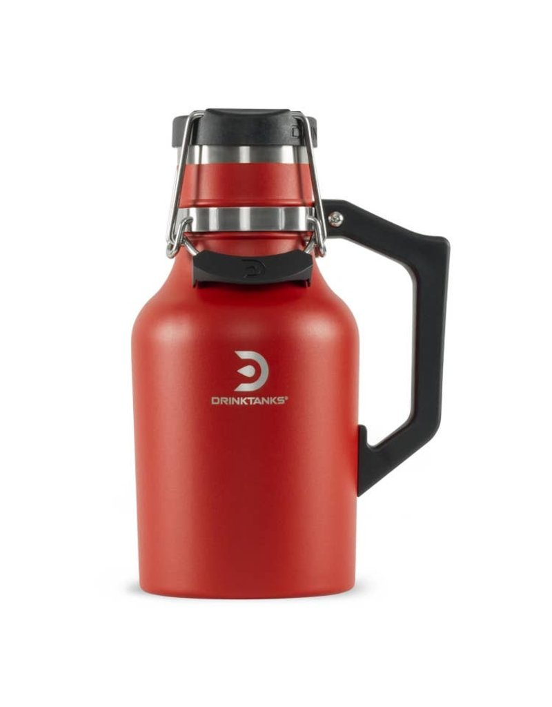 Drink Tanks 32oz. Crimson Growler