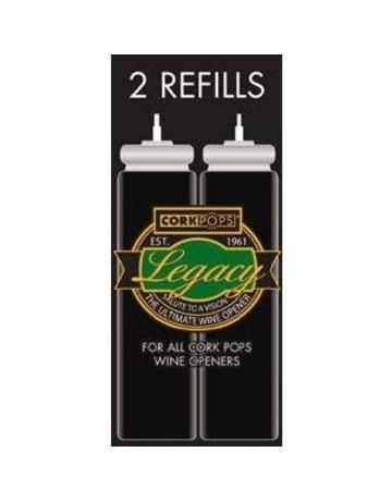 Cork Pops Refill Cartridges Box of 2