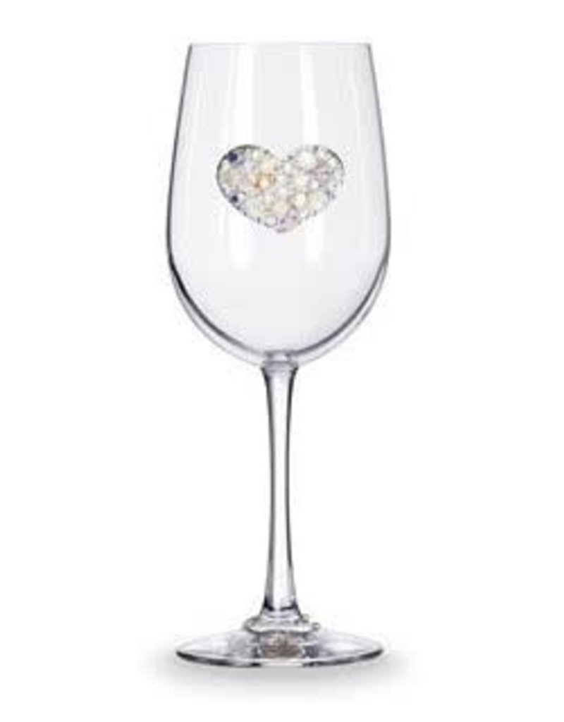 The Queen Jewels Multi Stone Heart- Stemmed