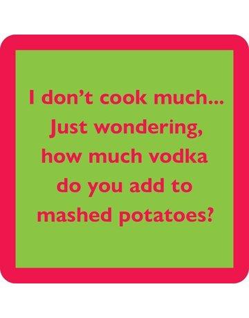 Iamtra/ Drinks on Me Coasters Mashed Potatoes Coaster