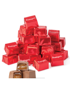 Bissinger's Milk Chocolate Caramel Fill Red Presents Tube