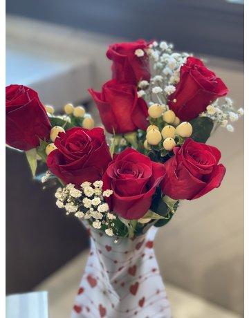 1/2 Dozen Roses V-Day Promo