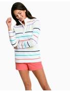 Southern Tide W Waylon Striped Pullover
